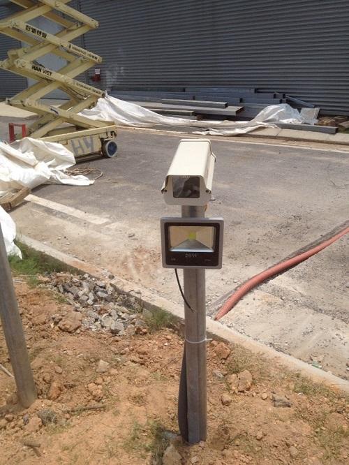 Hệ thống camera nhận dạng biển số xe