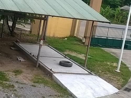 Bàn cân bê tông 40 tấn