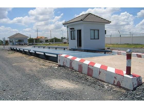 Bán trạm cân ô tô 40 tấn tại Lào,Campuchia