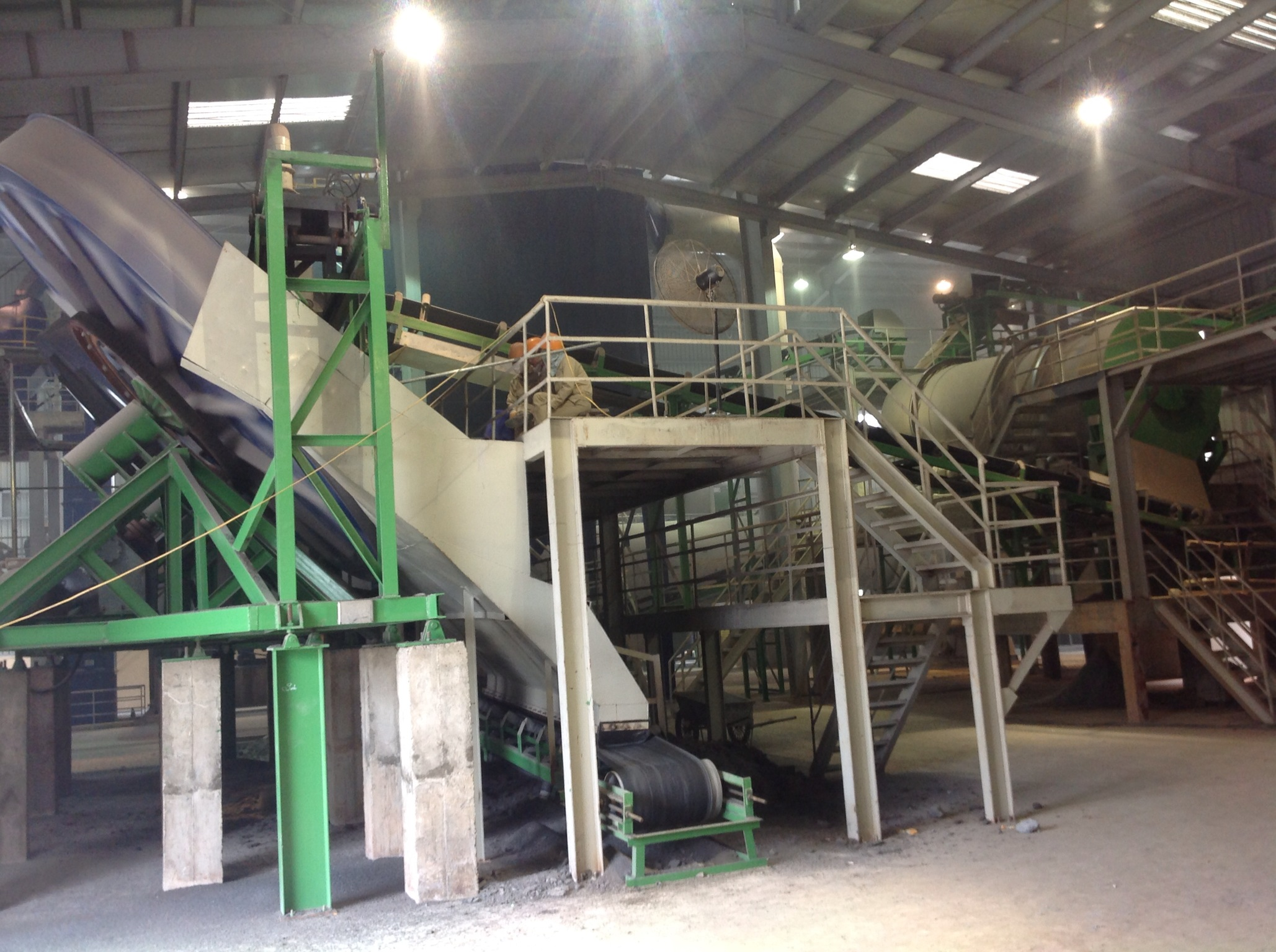 Dây chuyền sản xuất phân bón hữu cơ vi sinh