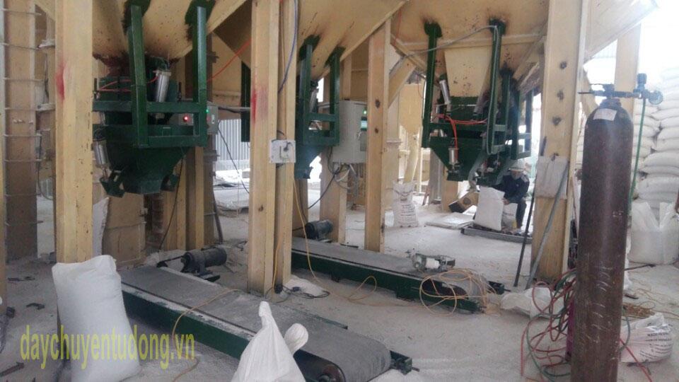 Dây chuyền sản xuất bột đá