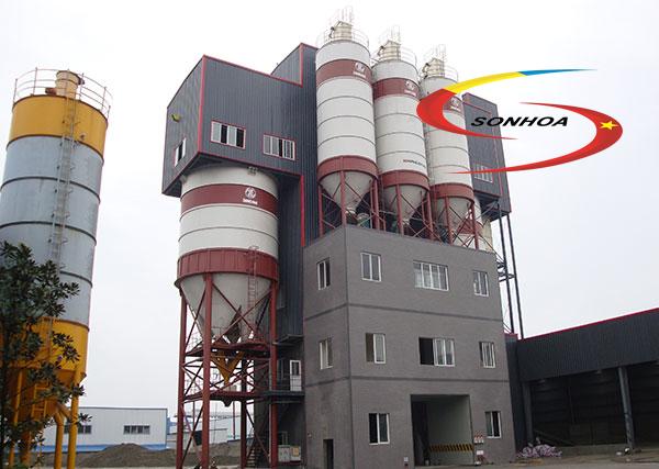 Dây chuyền và máy sản xuất vữa khô tự động