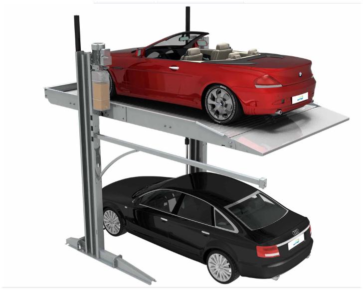 Thang nâng xe ô tô thủy lực 2 tấn