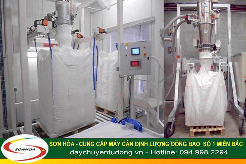 Máy cân định lượng đóng bao Jumbo 1000kg cho hóa chất