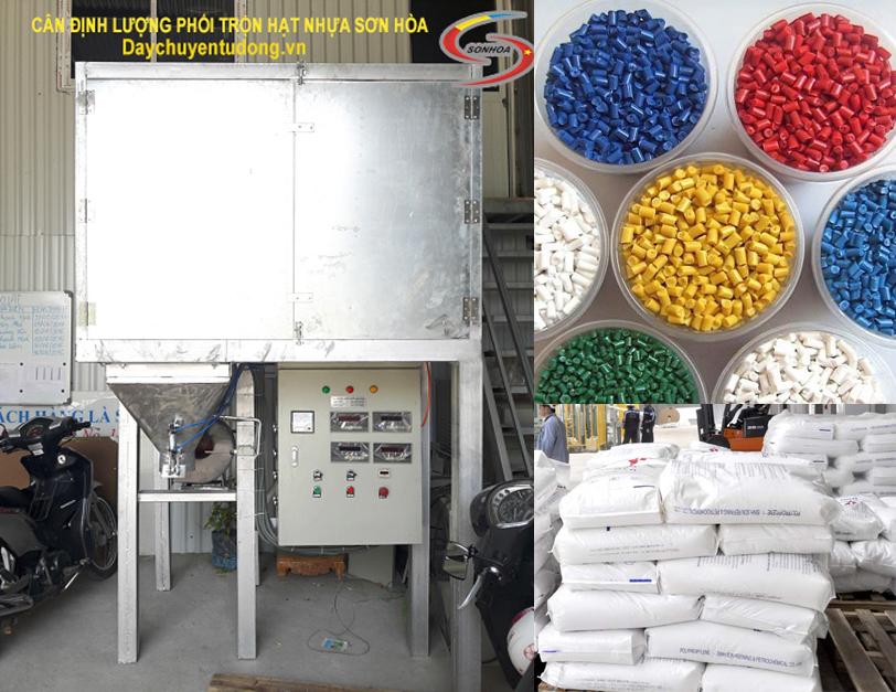 Cân đóng bao chuyên dụng cho ngành nhựa