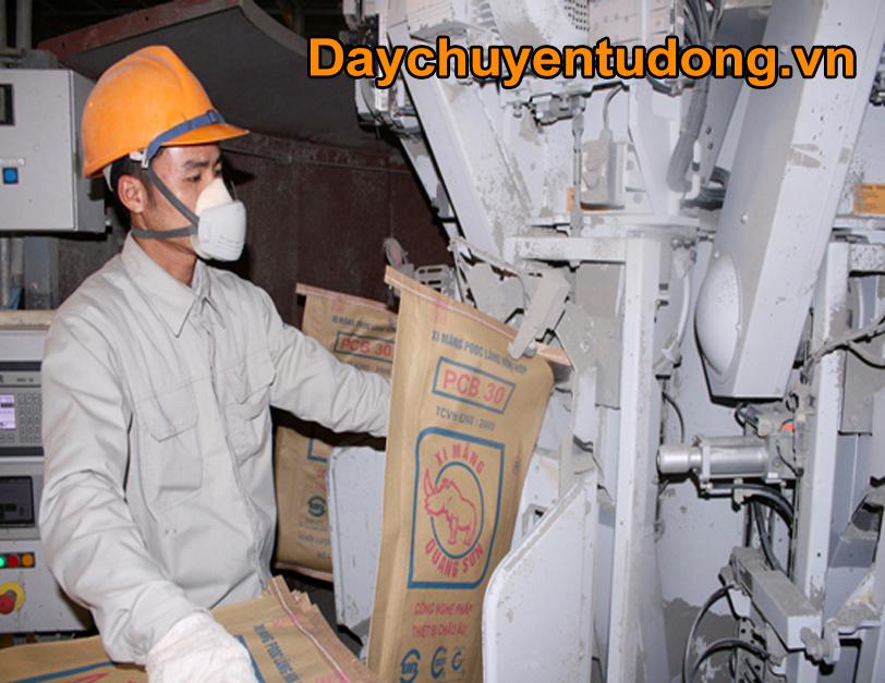 Cân định lượng đóng bao xi măng tại Huế và Đà Nẵng