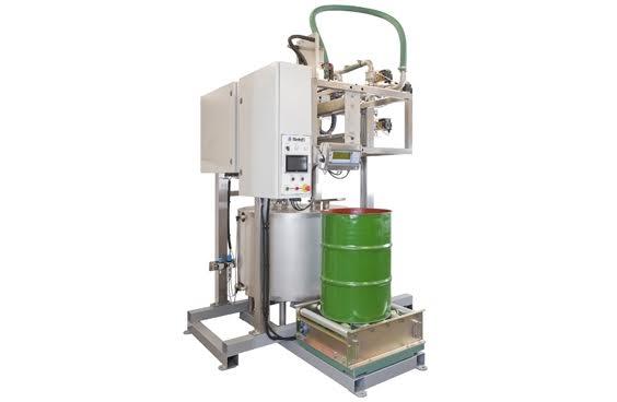 lắp đặt máy chiết rót dầu nhớt hiện đại nhất