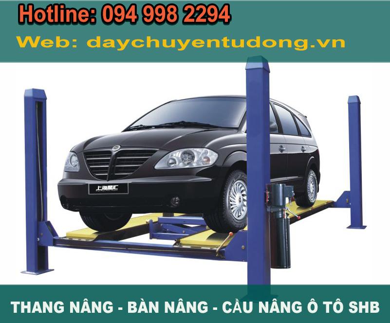 cầu nâng ô tô - thang nâng ô tô 5 tấn