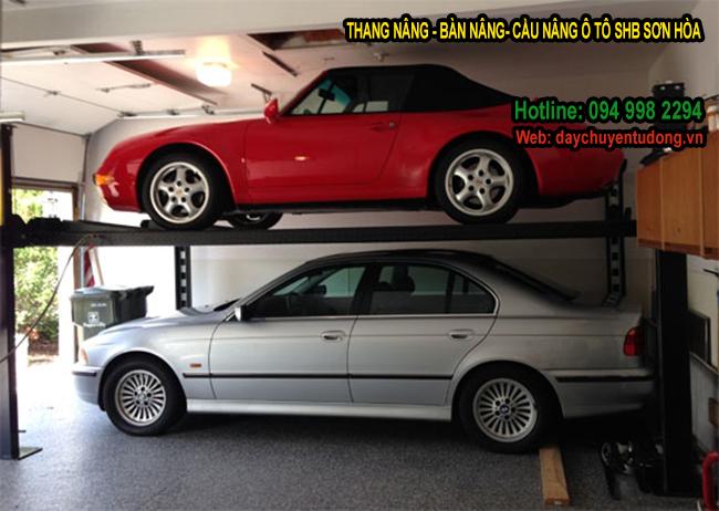 thang nâng xe ô tô 4 tấn