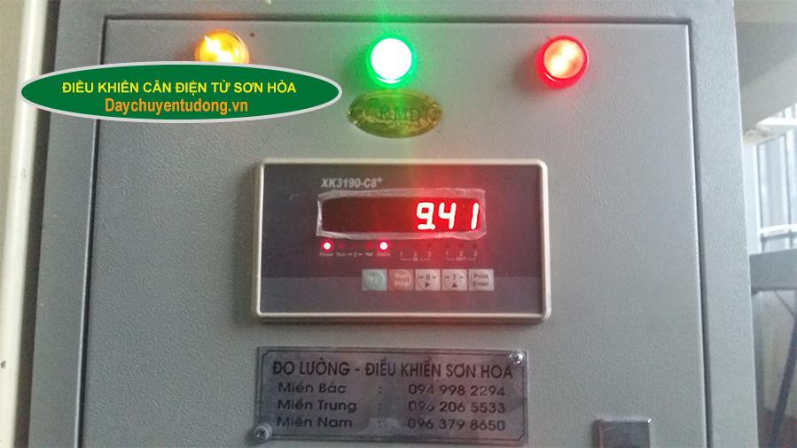 Hệ thống điều khiển cân điện tử Sơn Hòa