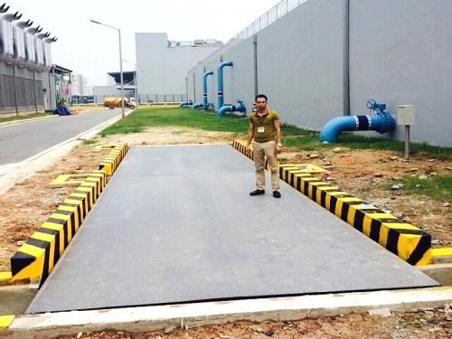 đơn vị cung cấp trạm cân ô tô 60 tấn uy tín,thiết bị điện tử nhập khẩu chính hãng