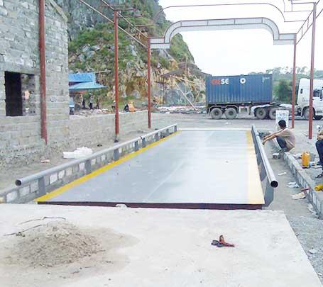 Đơn vị cung cấp trạm cân ô tô 150 tấn uy tín trên toàn quốc