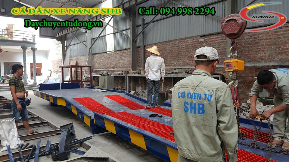 Lắp giáp cầu và kiểm tra lại lần cuối tại nhà máy