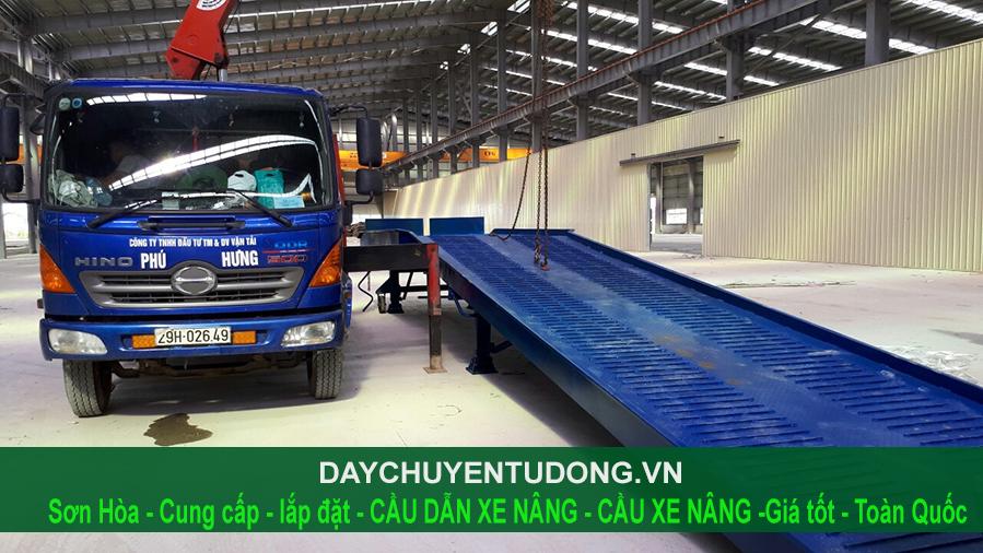 cầu xe nâng 8 tấn