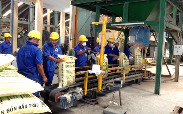 dây chuyền sản xuất phân bón npk