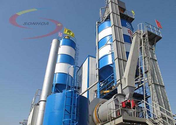 dây chuyền sản xuất vữa khô sơn hòa