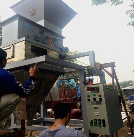 Lắp đặt dây chuyền đóng bao cho nhà máy DAP Hải Phòng