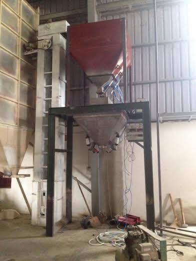 Bàn giao dây chuyền cân đóng bao gạo tại Thanh Hóa