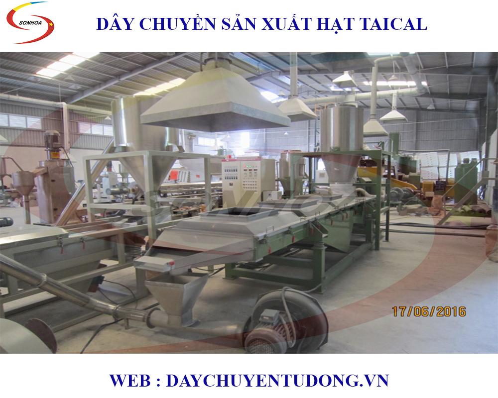 Lắp Đặt Dây Chuyền Sản Xuất Hạt Taical ( Phụ Gia Ngành Nhựa )