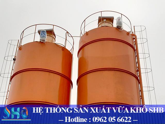 Hà Nội: Lắp đặt hệ thống sản xuất vữa khô, bột bả