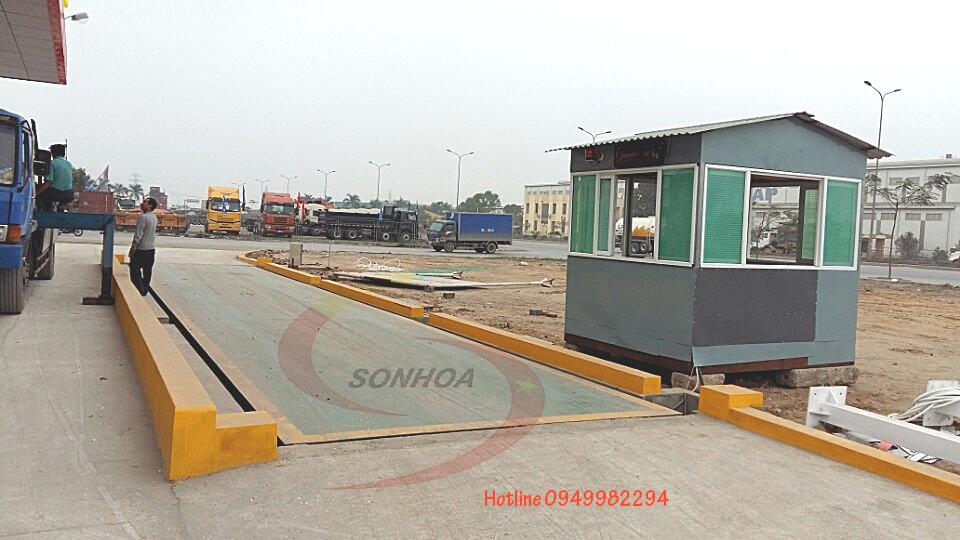 Lắp đặt cân xe tải 120 tấn Hải Phòng