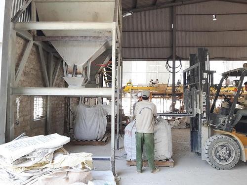Dây chuyền cân đóng bao jumbo tại Nghệ An
