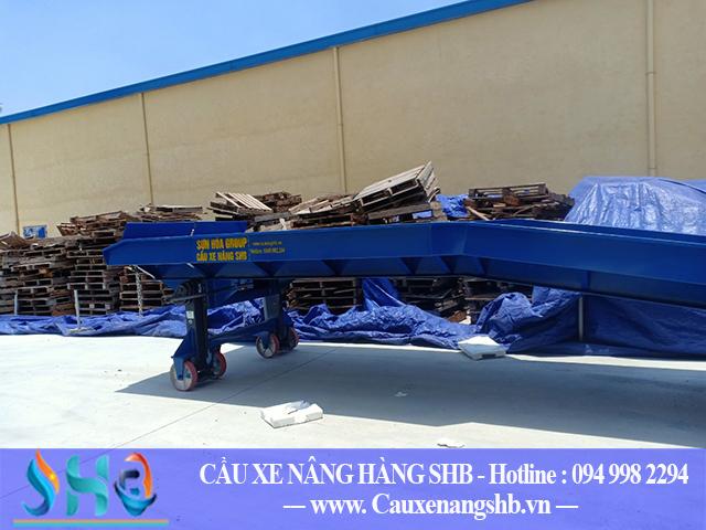 Bàn giao cầu xe nâng 6 tấn tại Bắc Ninh
