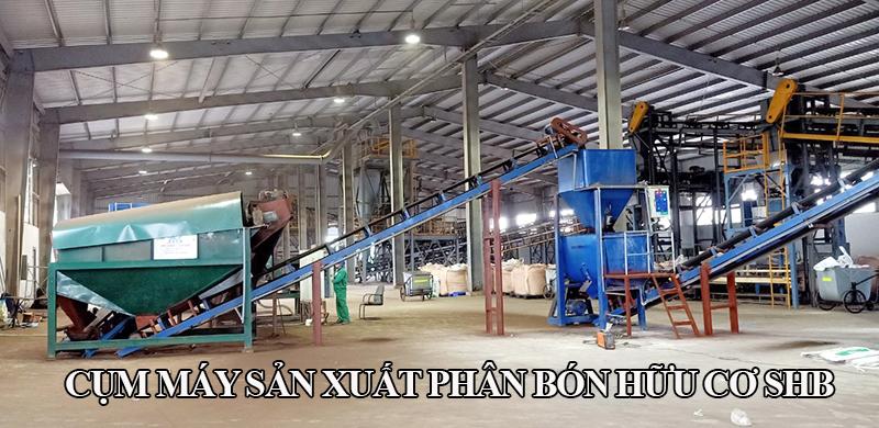 Lắp đặt dây chuyền sản xuất phân hữu cơ Yên Bái